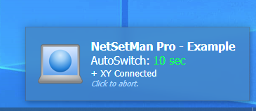 AutoSwitch notification