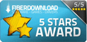 Award - FiberDownload.com