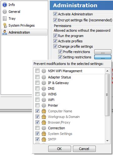 NetSetMan | Gestionnaire de paramètres réseau pour Windows